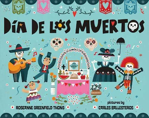Top 15 Day of the Books for Kids Worth Reading featured by top Seattle lifestyle blogger, Marcie in Mommyland: Dia de los Muertos