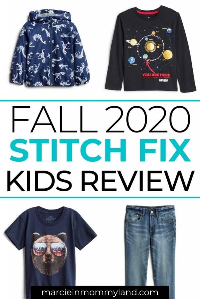 Stitch Fix Kids Unboxing & Review: Fall 2020 featured by top Seattle lifestyle blogger, Marcie in Mommyland