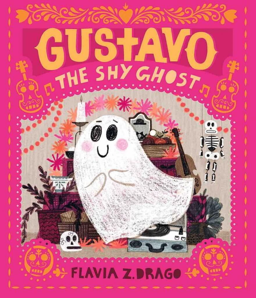 Top 15 Day of the Books for Kids Worth Reading featured by top Seattle lifestyle blogger, Marcie in Mommyland: Gustavo, the Shy Ghost
