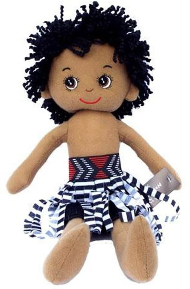 Best New Zealand Souvenirs featured by top travel blogger, Marcie in Mommyland: Maori Doll NZ Souvenir for Kids