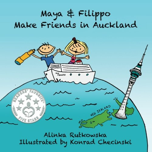 18 Fantastic New Zealand Children's Books featured by top travel blogger, Marcie in Mommyland: Maya and Flippo Make Friends in Auckland, a New Zealand Children's Book