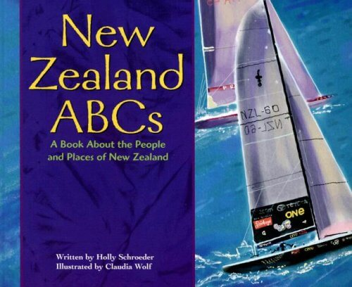 18 Fantastic New Zealand Children's Books featured by top travel blogger, Marcie in Mommyland: New Zealand ABCs is a top New Zealand Children's book