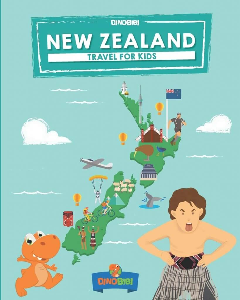 18 Fantastic New Zealand Children's Books featured by top travel blogger, Marcie in Mommyland: Dinobibi New Zealand for Kids