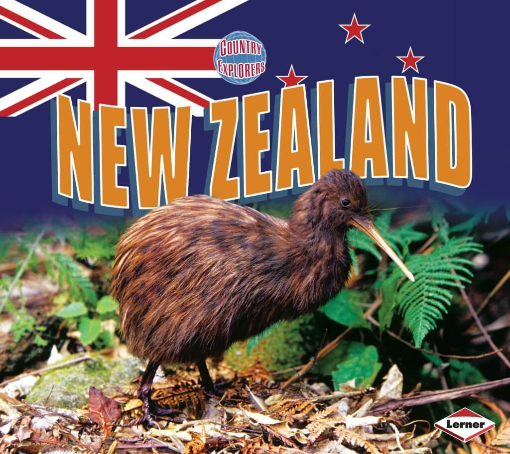 18 Fantastic New Zealand Children's Books featured by top travel blogger, Marcie in Mommyland: New Zealand a Country Explorers kids book about New Zealand