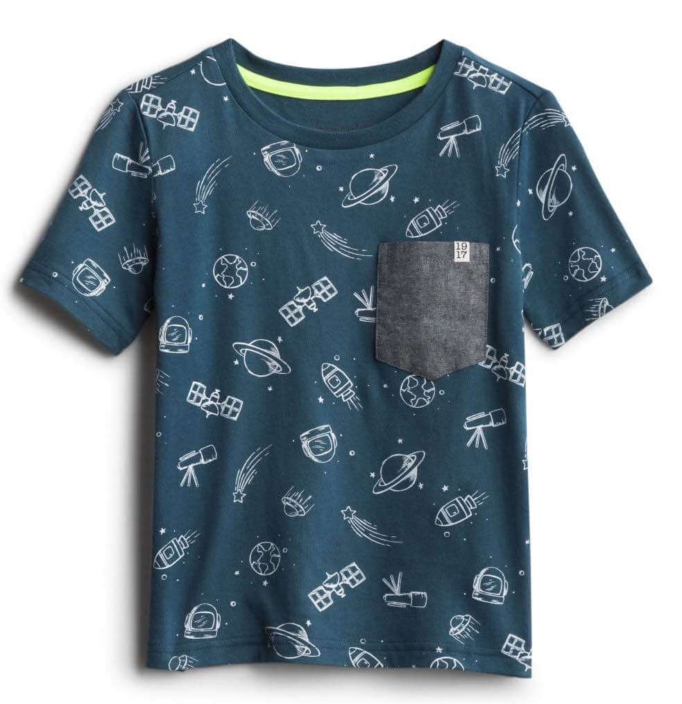 Stitch Fix Kids Unboxing & Try On: Fall 2020 featured by top Seattle lifestyle blogger, Marcie in Mommyland: image of Sovereign Code Graphic Tee