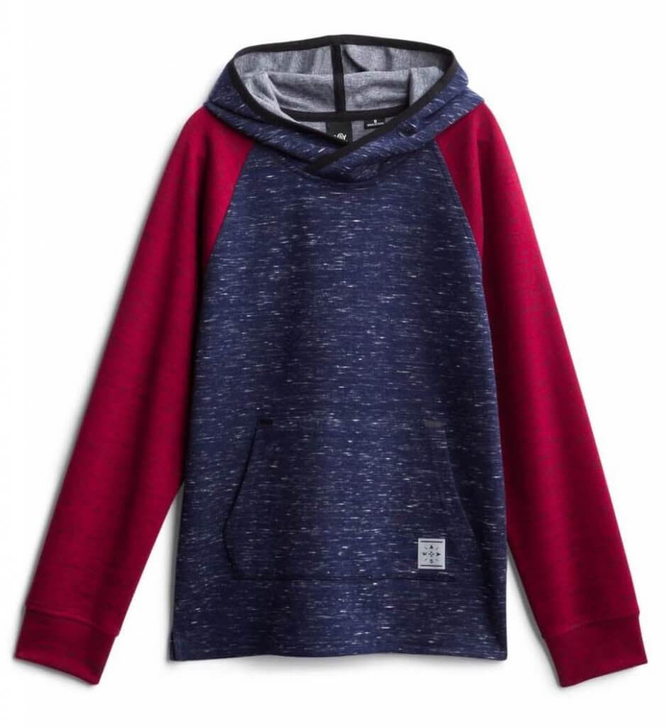 Stitch Fix Kids Unboxing & Try On: Fall 2020 featured by top Seattle lifestyle blogger, Marcie in Mommyland: image of a Wayside Fleece Hoodie