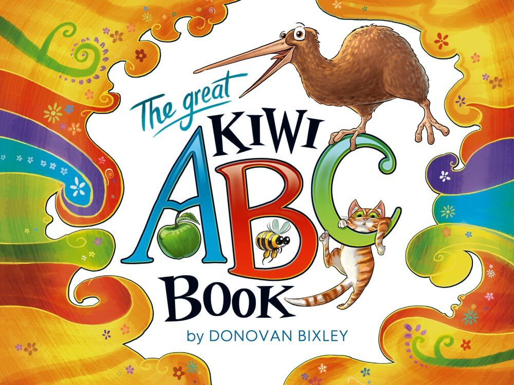 18 Fantastic New Zealand Children's Books featured by top travel blogger, Marcie in Mommyland: Another great kids book about New Zealand is The Great Kiwi ABC Book