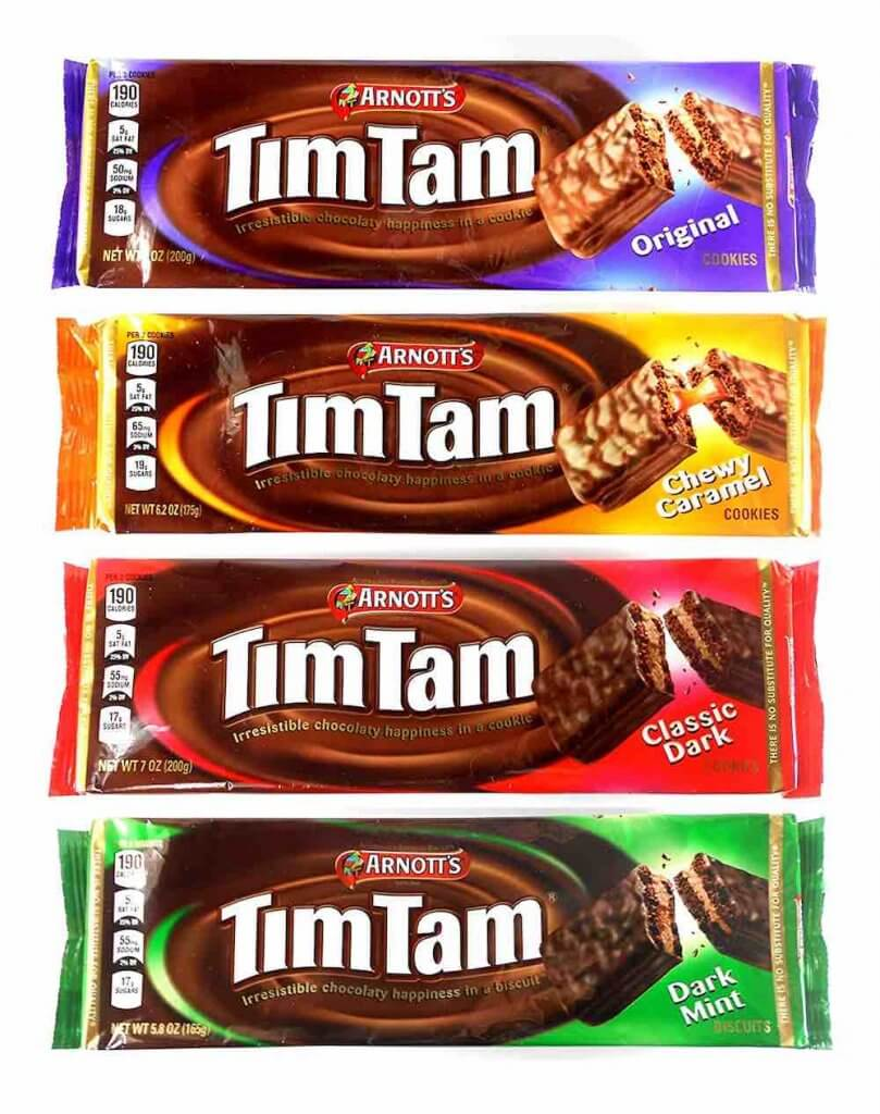 Best New Zealand Souvenirs featured by top travel blogger, Marcie in Mommyland: Tim Tams New Zealand Souvenirs
