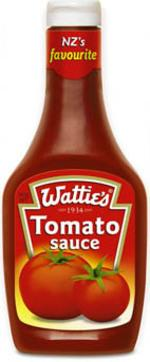 Best New Zealand Souvenirs featured by top travel blogger, Marcie in Mommyland: Wattie's Tomato Sauce from New Zealand