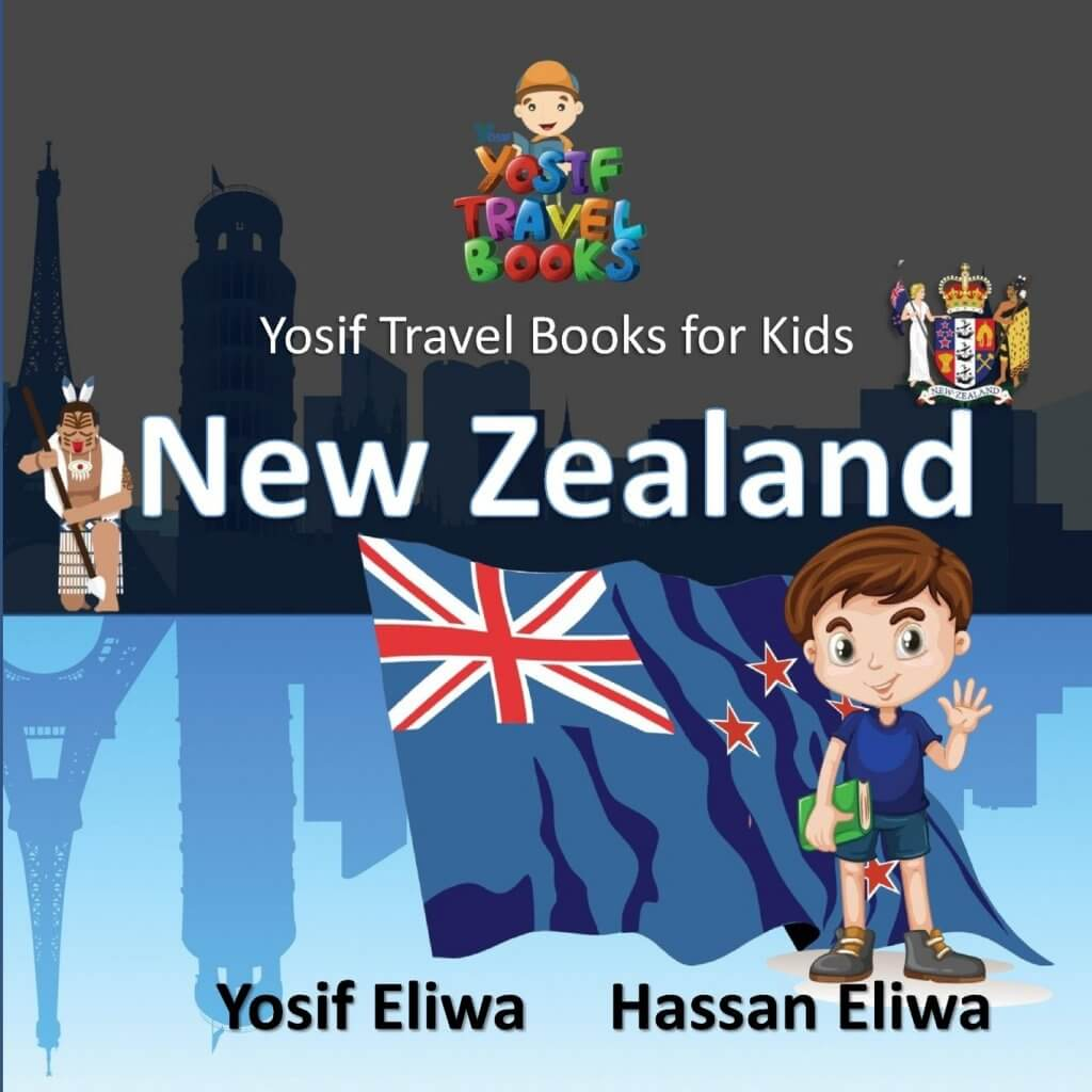 18 Fantastic New Zealand Children's Books featured by top travel blogger, Marcie in Mommyland: Yosif Travel Books for Kids New Zealand