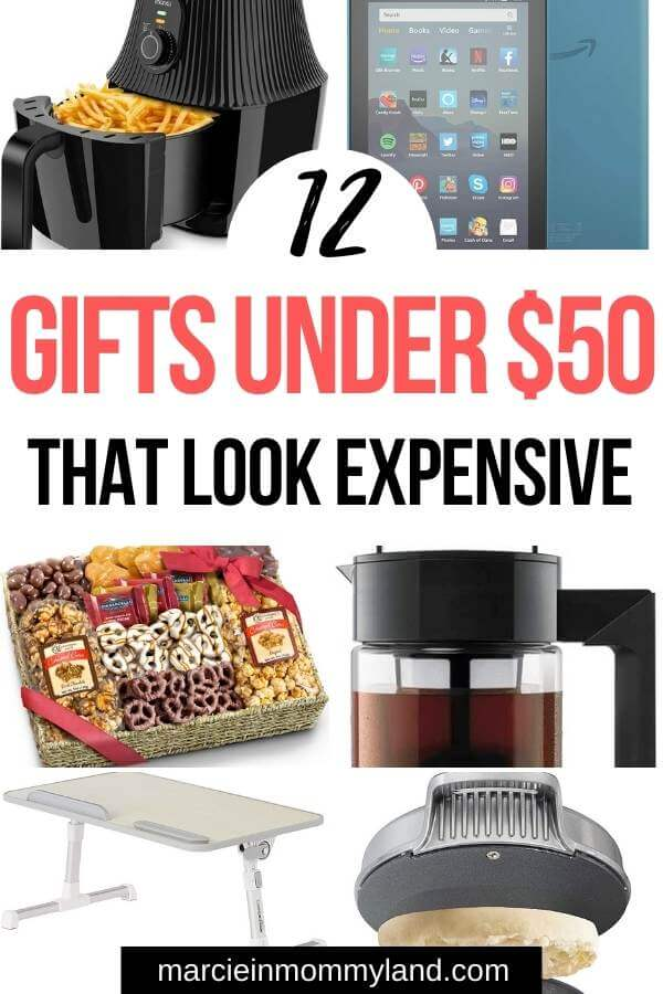 Top 12 Under $50 Christmas Gifts featured by top Seattle lifestyle blogger, Marcie in Mommyland