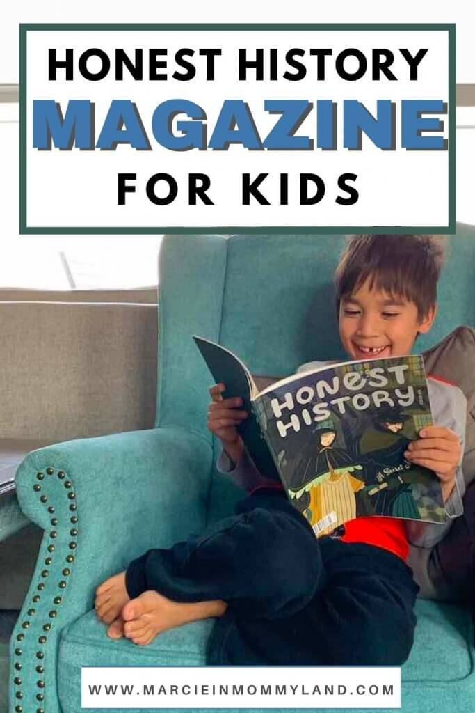 Honest History Magazine review featured by top Seattle lifestyle blogger, Marcie in Mommyland