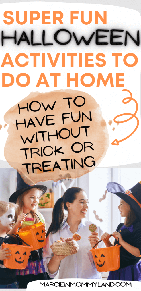 Fun Things to Do at Home on Halloween with Kids featured by top Seattle lifestyle blogger, Marcie in Mommyland