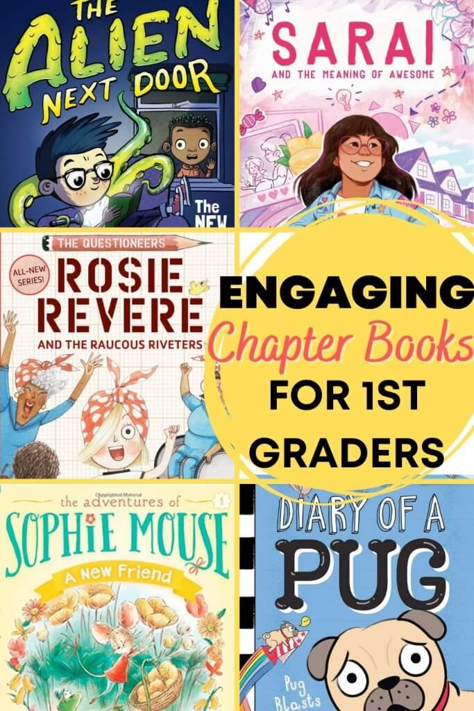 The Best Chapter Books for 1st Graders featured by top Seattle lifestyle blogger, Marcie in Mommyland