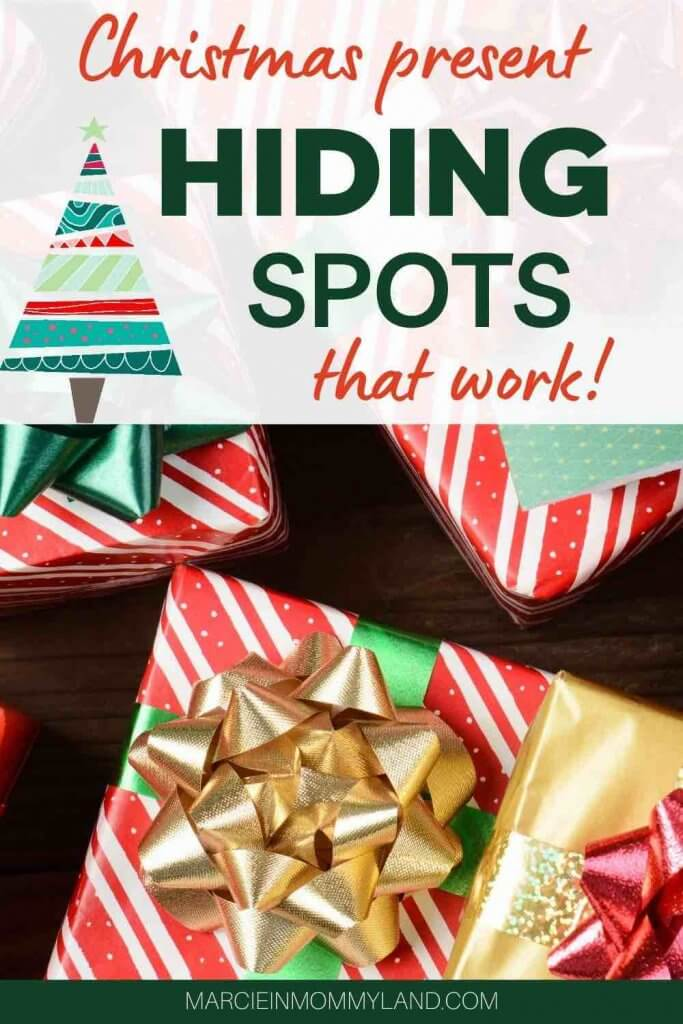 10 Best Secret Places to Hide Christmas Presents featured by top US lifestyle blogger, Marcie in Mommyland