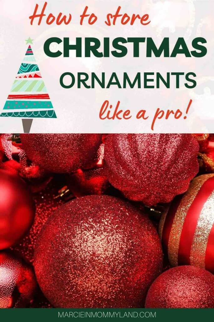 How to Store Christmas Ornaments So They Won't Break, tips featured by top Seattle lifestyle blogger, Marcie in Mommyland