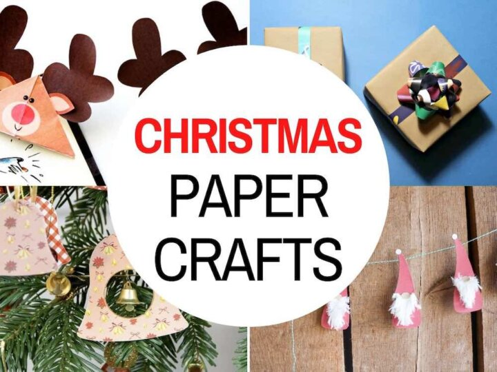 41 Amazing Christmas Paper Crafts to Make During the Winter