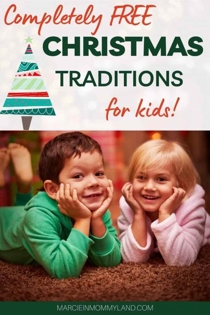 15 Free Festive Christmas Traditions That Don't Cost a Dime featured by top Seattle lifestyle blogger, Marcie in Mommyland