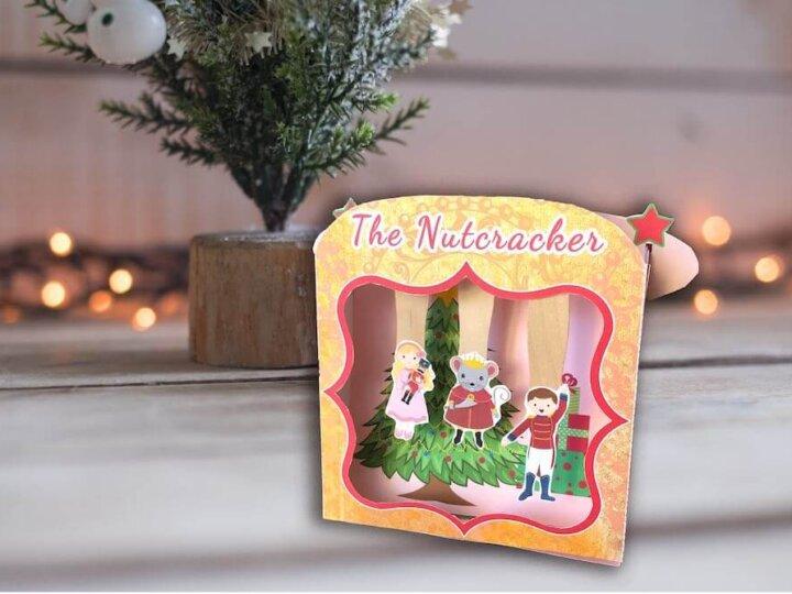 Nutcracker Craft: The Nutcracker Ballet Stage Kit with FREE Nutcracker Printables