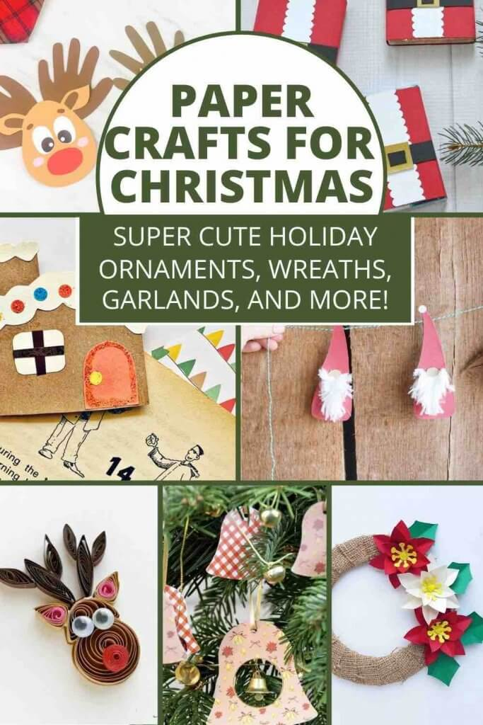 Best Christmas Paper Crafts featured by top Seattle lifestyle blogger, Marcie in Mommyland