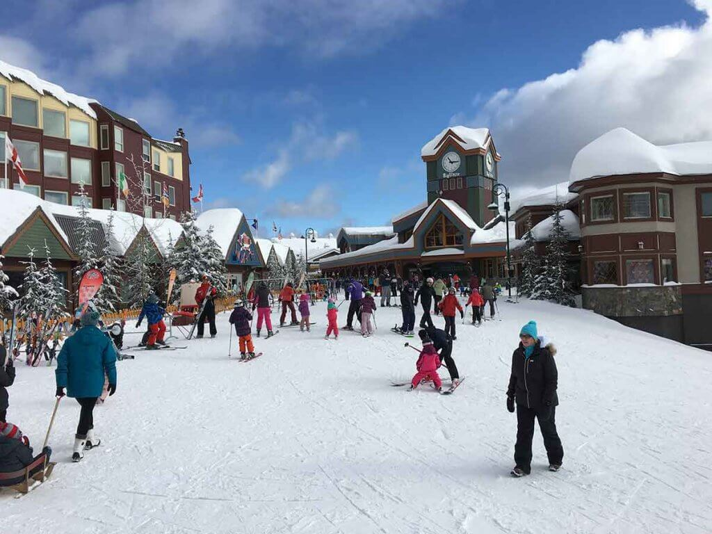 Big White Ski Resort in Okanagan, British Columbia