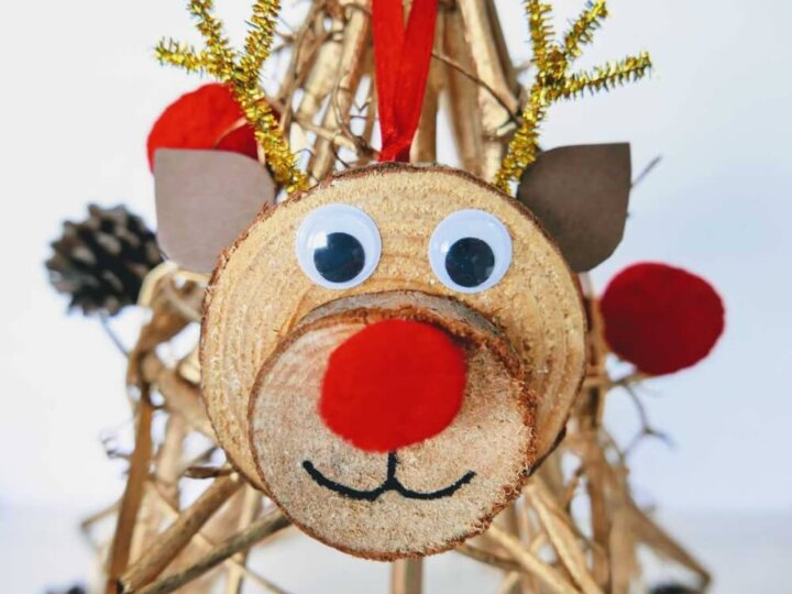Learn how to make this adorable DIY Reindeer Ornament from top Seattle lifestyle blog Marcie in Mommyland