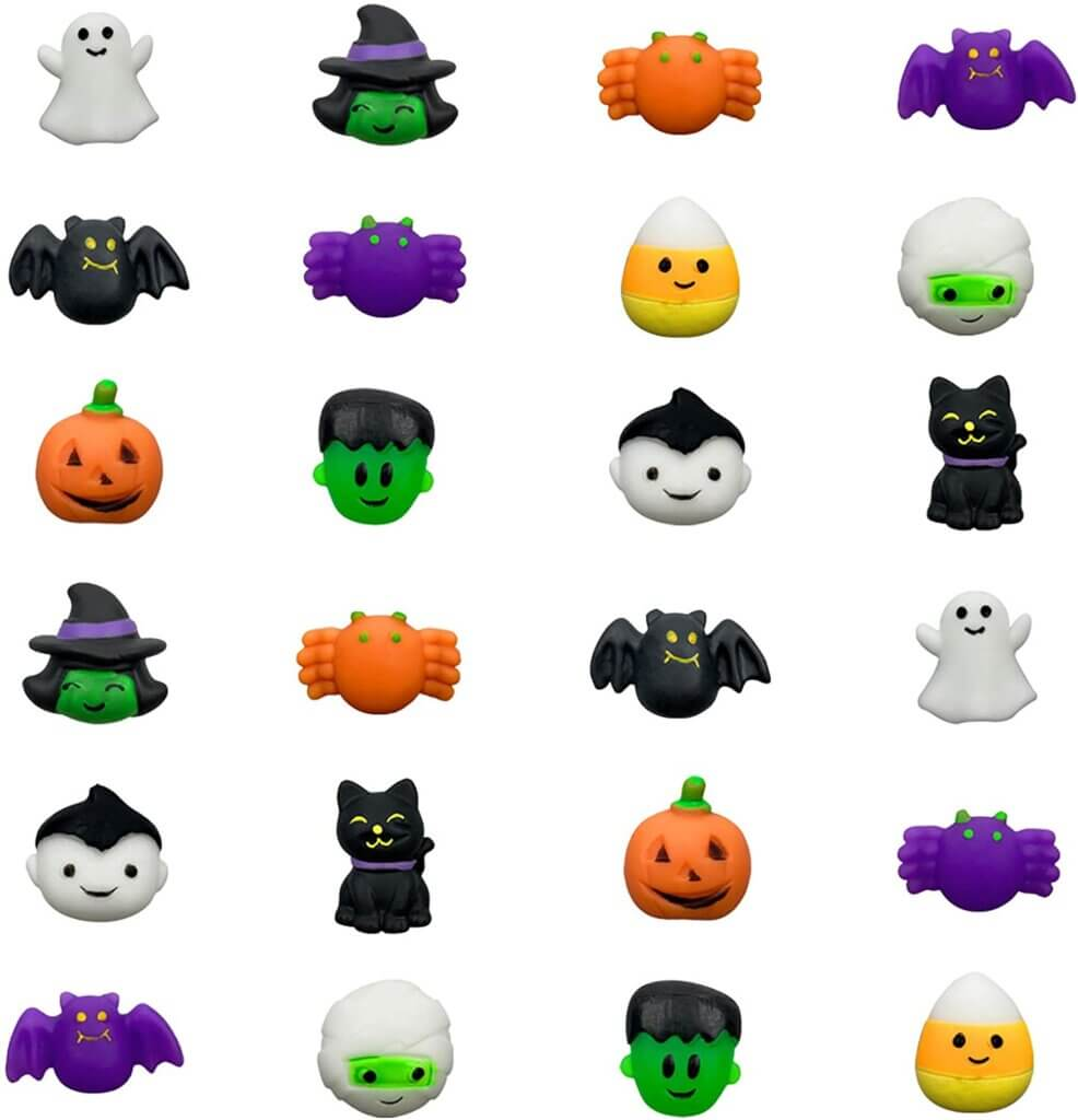It doesn't get much cuter than these mochi Halloween toys!