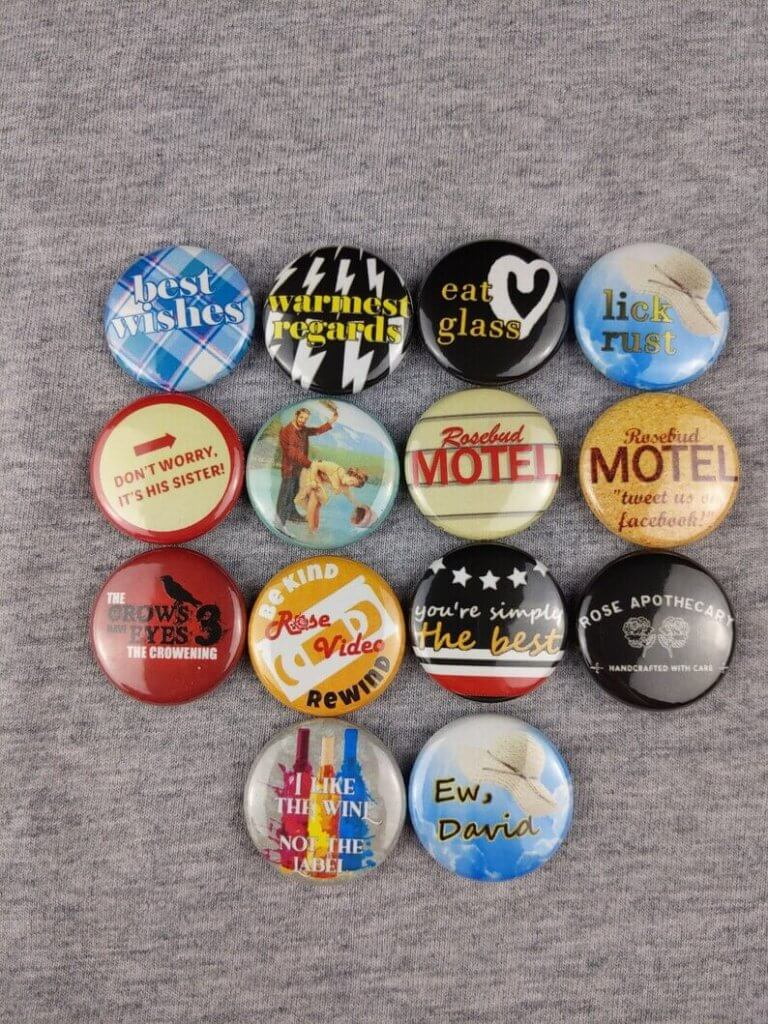 Top 27 Best Schitt's Creek Gifts from Etsy featured by top Seattle lifestyle blogger, Marcie in Mommyland: Schitt's Creek magnets