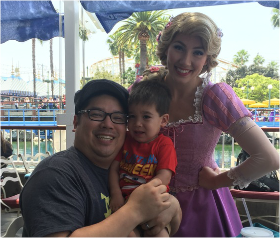 Disneyland Character Dining at Ariel's Grotto at Disney's California Adventure