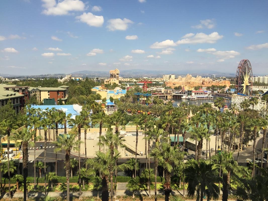 Paradise Pier Hotel in Disneyland