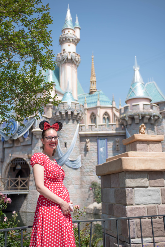 Maternity Style in Disneyland