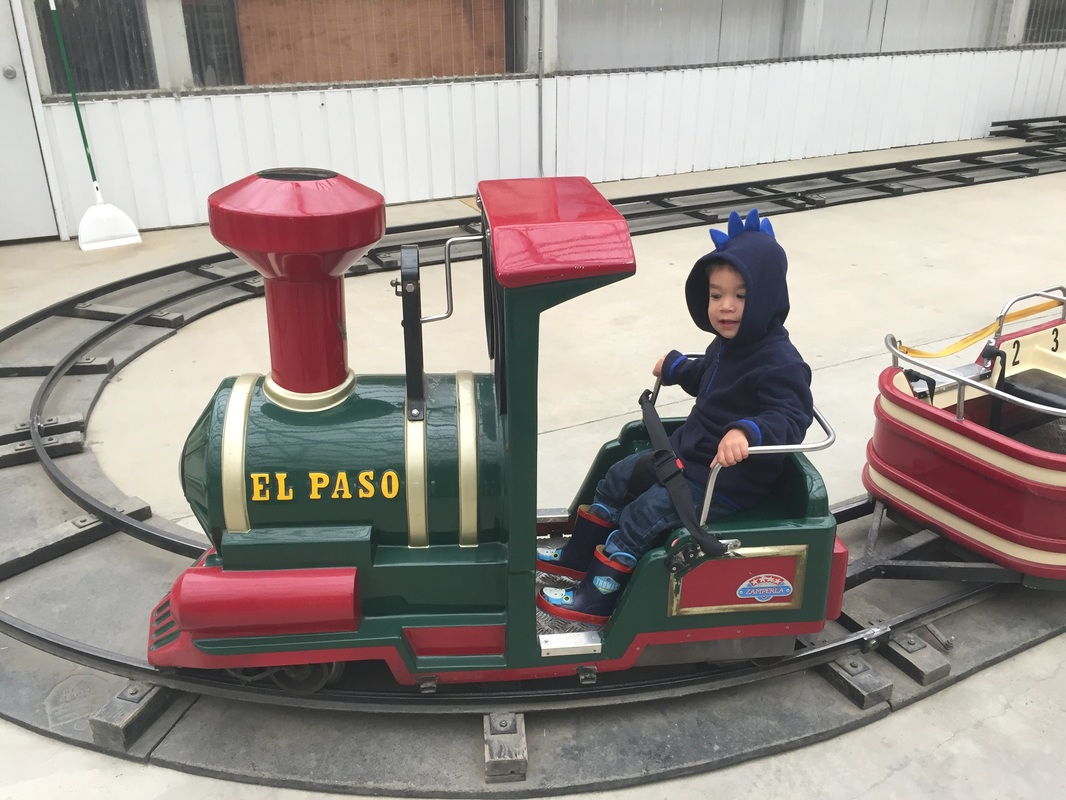 Tiny Tot Train at Remlinger Farms in Carnation, WA