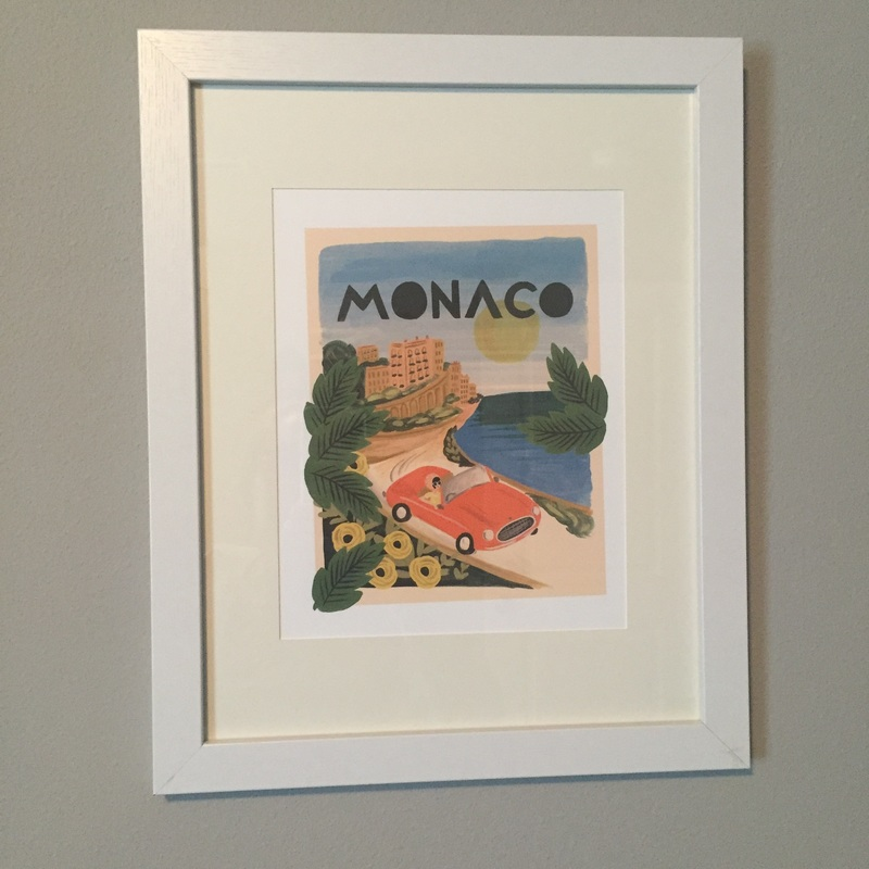 Rifle Paper Co Monaco Print