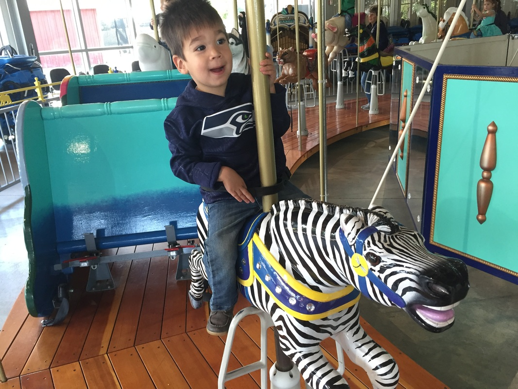 Carousel at Point Defiance Zoo & Aquarium