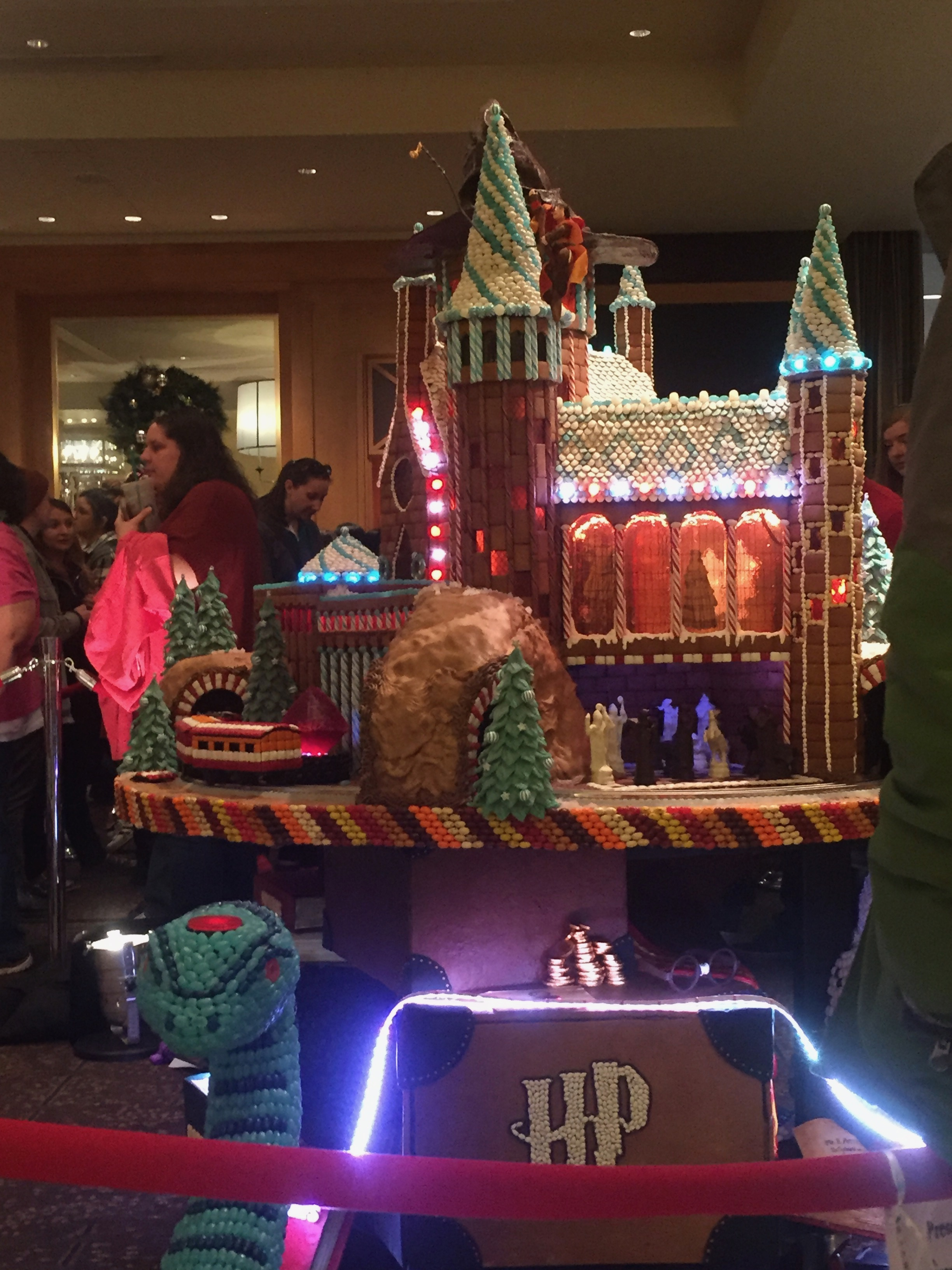 Gingerbread Village at the Seattle Sheraton | Christmas in Seattle featured by top Seattle blogger, Marcie in Mommyland