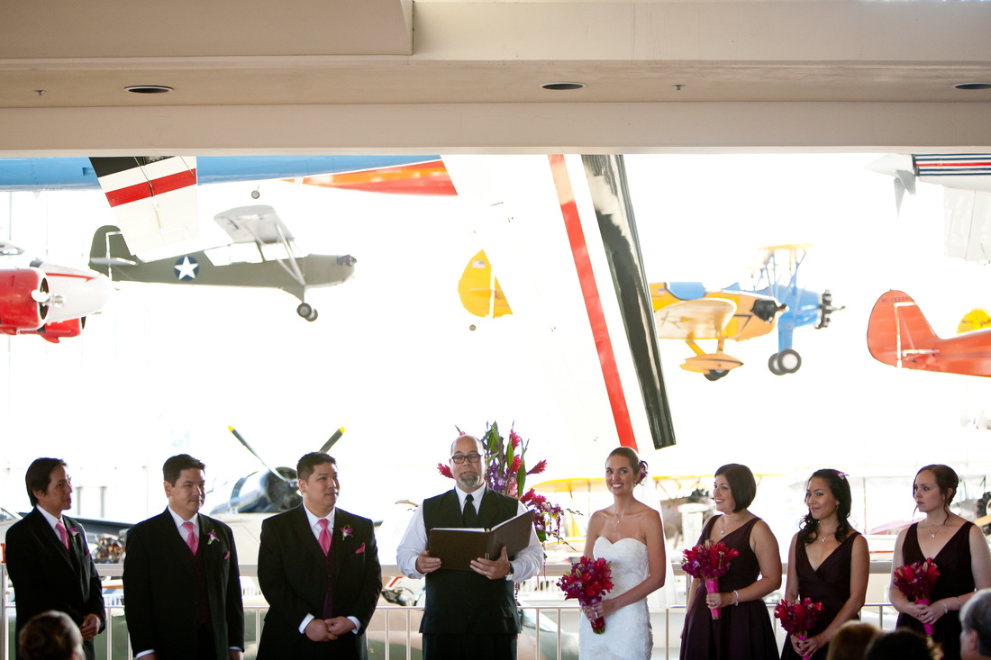 The Museum of Flight is one of many Seattle wedding venues that we researched when planning our travel themed wedding. #wedding #weddinginsp #travelthemedwedding