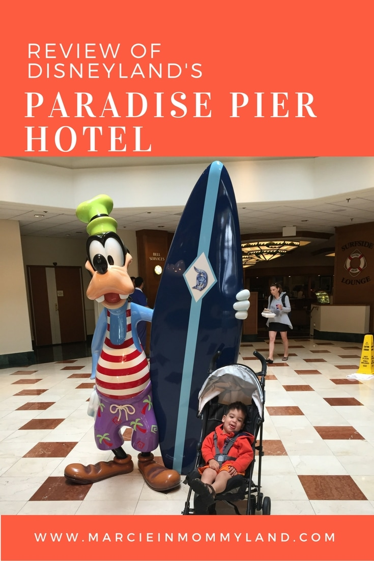 Disney's Paradise Pier Hotel Review for Families with Toddlers