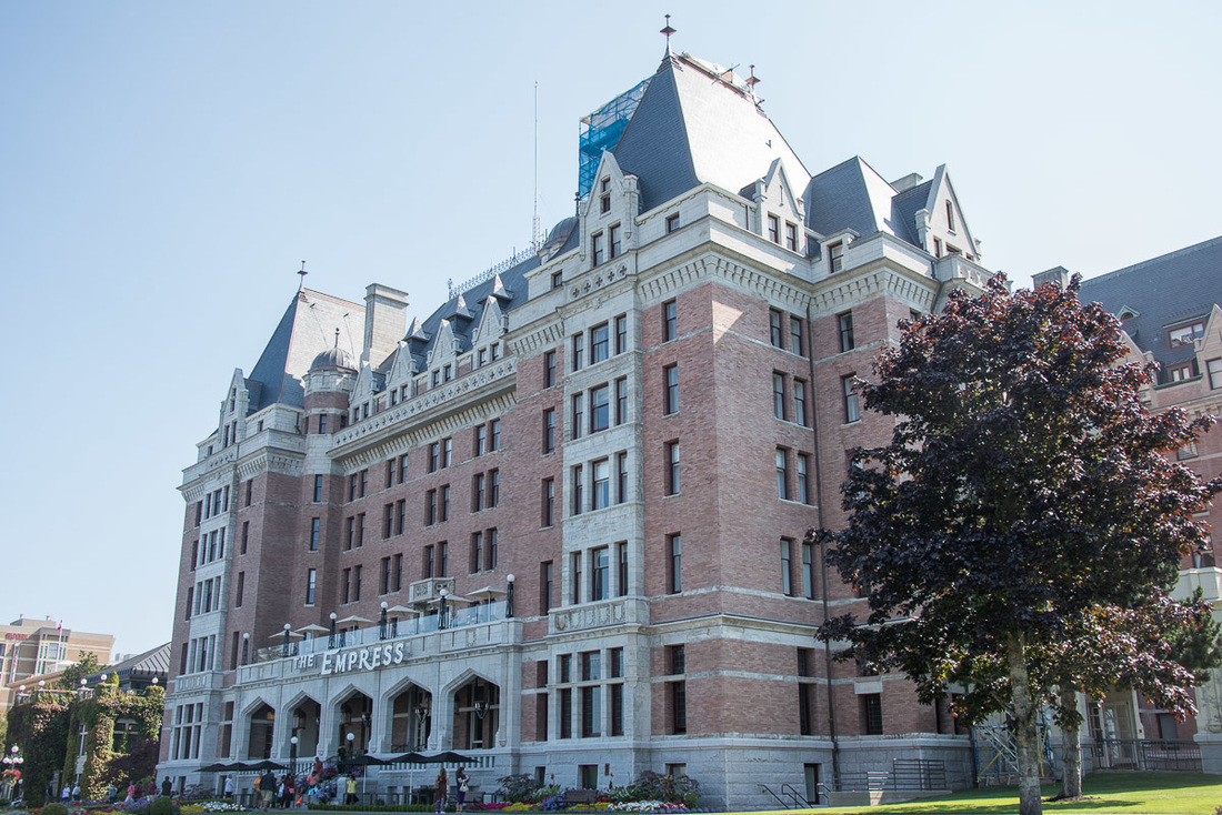 Romantic getaway in Victoria, BC at the Fairmont Empress Hotel is one of the best places to stay in Victoria, BC